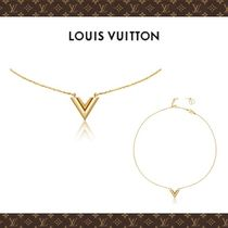 ☆Louis Vuitton☆追跡有り☆ESSENTIAL V ネックレス☆男女OK!