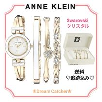 ★ANNE KLEIN★ 腕時計 ブレスレットセット スワロフスキー ①