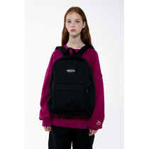 [ KIRSH ] KIRSH POCKET CIRCLE LOGO BACKPACK IA [BLACK]