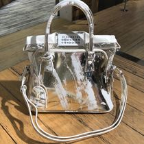 19-20AW 新作 マルジェラ 5AC 3-pockets bag silver white/gold