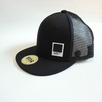 HATS-ON Kids SM (49〜53cm) メッシュCAP BLAK