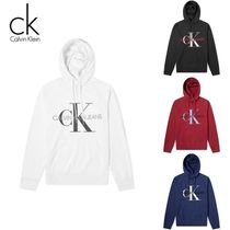 New Calvin Klein Jeans Washed Monogramパーカー