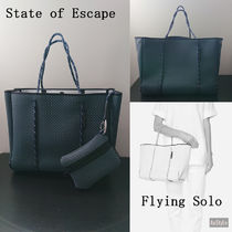 ◆STATE OF ESCAPE◆Flying Solo ◆軽量小トートバッグ