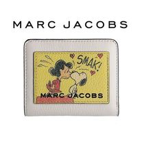 ☆Peanuts x MARC JACOBS☆The Box Mini Compact 2つ折り財布♪