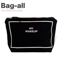 Bag all(バッグオール) メイクポーチ 【Bag-all】関送込 NY発〓MY MAKE-UP メイクポーチ 黒