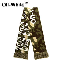 【Off-White】☆人気☆PEACE SCARF