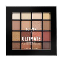NYX ULTIMATE SHADOW パレット Warm Neutrals 16カラー