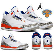 新作!NIKE Air Jordan 3 Retro 'Knicks' ニックスカラー