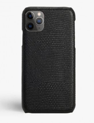 THE CASE FACTORY スマホケース・テックアクセサリー The Case Factory★iPhone 11 PROケース リザード★