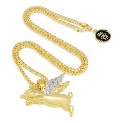 King Ice ネックレス・チョーカー LA発ストリート☆King Ice☆HipHopペンダント Flying Pig(8)
