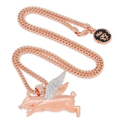 King Ice ネックレス・チョーカー LA発ストリート☆King Ice☆HipHopペンダント Flying Pig(10)