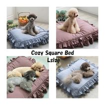 【TOTO&ROY】Cozy Square Bed★Lsize★2color