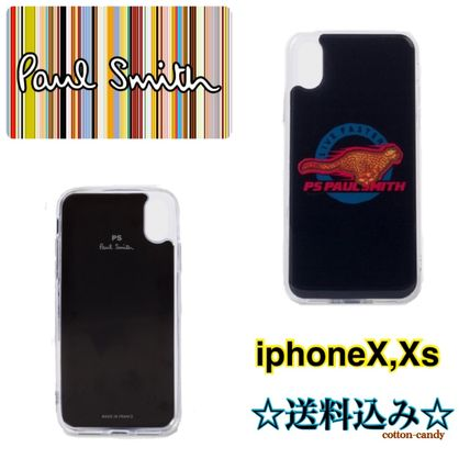 Paul Smith スマホケース・テックアクセサリー *国内発送 PaulSmith Live Faster iphone X/Xs ケース*
