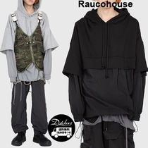 Raucohouse  NYLON LAYERED OVER HOODIE  HM180/追跡付