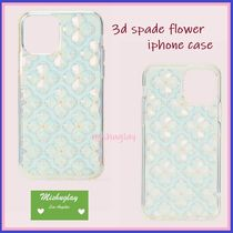 【kate spade】新型*iPhone 11 Pro/Pro Max★3D spade flower ★