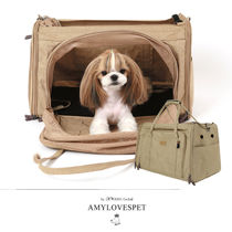 AMYLOVESPET(エイミーラブズペット)CHANG CARRIER TARP BEIGE L