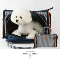 AMYLOVESPET(エイミーラブズペット)CHANG CARRIER STRIPE NAVY