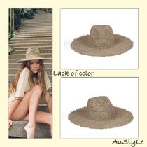 ■Lack of color■シーグラスハット■ Sunnydip Fray Fedora