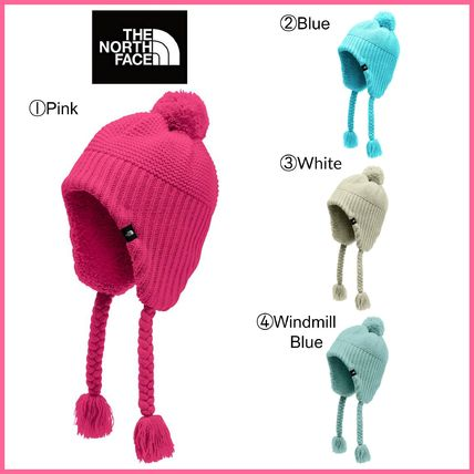 THE NORTH FACE 子供用帽子・手袋・ファッション小物 Kids' !! ☆THE NORTH FACE☆ Purrl Stitch Earflap Beanie