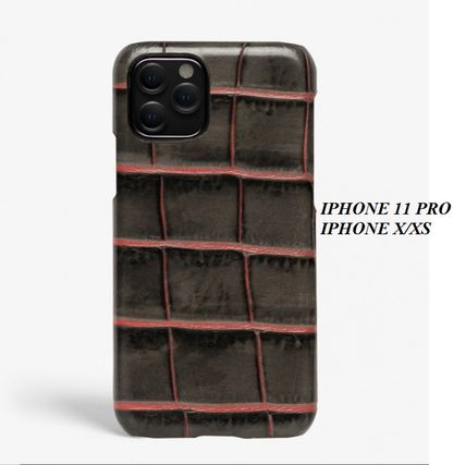 THE CASE FACTORY iPhone・スマホケース The Case Factory★iPhone 11 PRO ケース タウペクロコダイル
