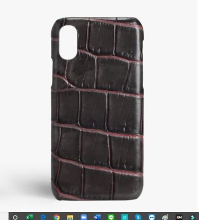 THE CASE FACTORY iPhone・スマホケース The Case Factory★iPhone 11 PRO ケース タウペクロコダイル(2)