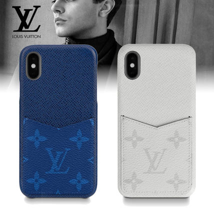 Louis Vuitton スマホケース・テックアクセサリー 即対応★ギフトにも【LV】タイガ・レザー iphone XS/XSMax 2color