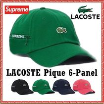Supreme LACOSTE Pique 6-Panel AW 19 FW 19 WEEK 5