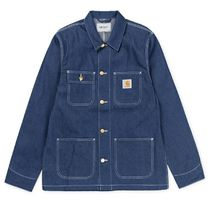 Carhartt WIP*Michigan Chore Coat  Blue rigid ★追跡付送料込