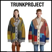 TRUNK PROJECT(トランク プロジェクト) カーディガン ☆TRUNKPROJECT☆ 男女兼用 Color Mixed Wool Cardigan Jacket