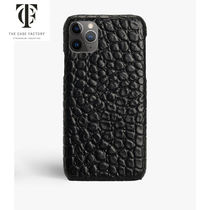 THE CASE FACTORY*IPHONE 11 PRO MAX クロコダイル BLACK