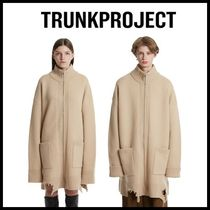 TRUNK PROJECT(トランク プロジェクト) カーディガン ☆TRUNKPROJECT☆  Grunge Detail Zip-Up Cardigan Jacket