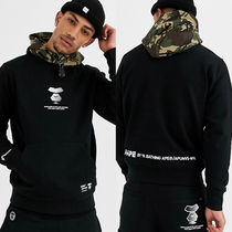 AAPE By A Bathing Ape Tech Armyカモフラフード パーカー