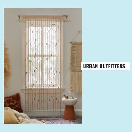 Urban Outfitters カーテン UrbanOutfitters☆Crescent Beaded Curtain☆ビーズカーテン☆N