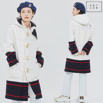 ROMANTIC CROWN ★SIGNATURE DUFFEL COAT_OATMEAL