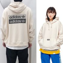 ADIDAS MEN'S ORIGINALS☆DOUBLE LOGO HOODIE ED7123