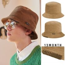 13MONTH★日本未入荷★男女兼用★ SUEDE BUCKET HAT ハット