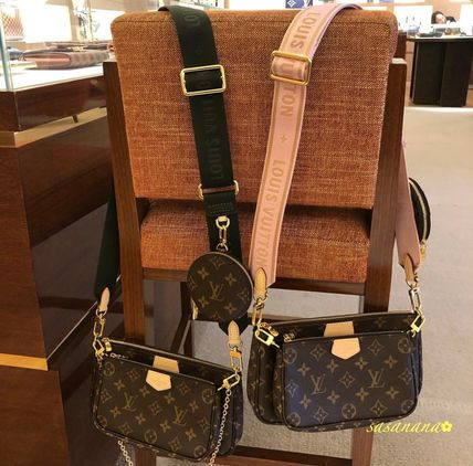 Louis Vuitton ショルダーバッグ・ポシェット MULTI POCHETTE ACCESSORIE ヴィトン ポシェット 国内発送 2020C(2)