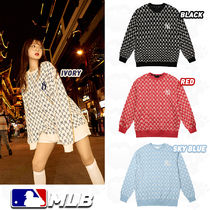 ★MLB★19SS NEW YORK YANKEES MONOGRAM トレーナー(全3色)