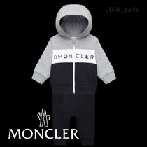 Moncler★2019AW★BABY★ロゴ入トリコロール上下セット★24~36M