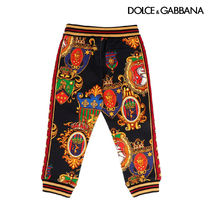 【DOLCE & GABBANA】All over printed sweatpants