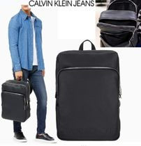 CALVIN KLEIN PEBBLE ESSENTIALS  ダブル ジッパー BACKPACK