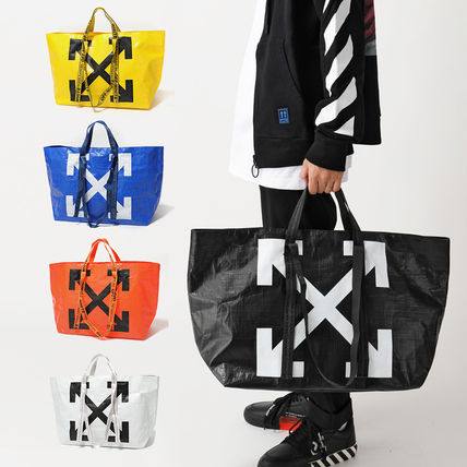 Off-White トートバッグ OFF-WHITE トートバッグ COMMERCIAL TOTE ショッパー