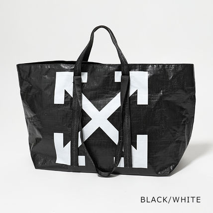 Off-White トートバッグ OFF-WHITE トートバッグ COMMERCIAL TOTE ショッパー(2)