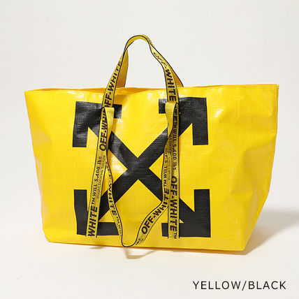 Off-White トートバッグ OFF-WHITE トートバッグ COMMERCIAL TOTE ショッパー(4)
