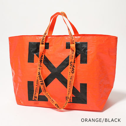 Off-White トートバッグ OFF-WHITE トートバッグ COMMERCIAL TOTE ショッパー(5)