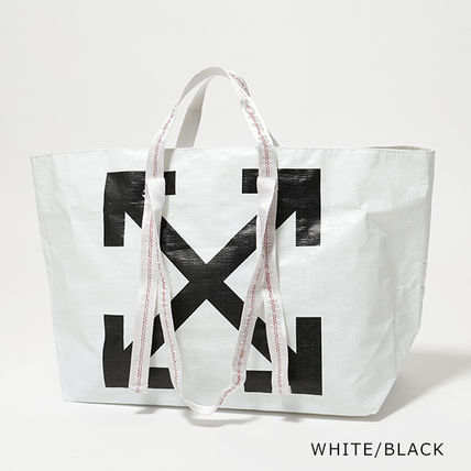 Off-White トートバッグ OFF-WHITE トートバッグ COMMERCIAL TOTE ショッパー(3)