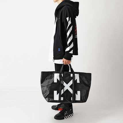 Off-White トートバッグ OFF-WHITE トートバッグ COMMERCIAL TOTE ショッパー(7)