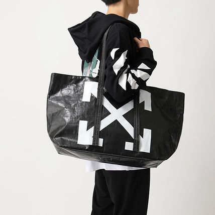 Off-White トートバッグ OFF-WHITE トートバッグ COMMERCIAL TOTE ショッパー(8)