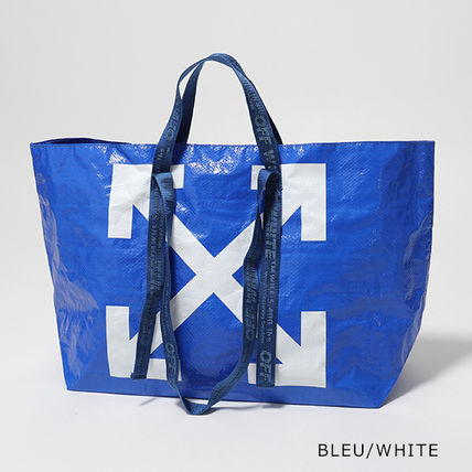 Off-White トートバッグ OFF-WHITE トートバッグ COMMERCIAL TOTE ショッパー(6)