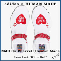 "【adidas×Human Made】Pharrell NMD Hu Love Pack ""White Red"""
